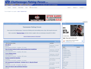 chattanoogafishingforum.com screenshot