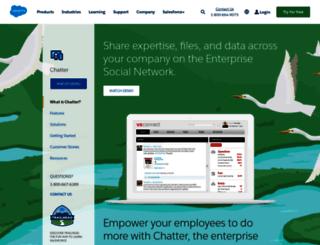 chatter.com screenshot