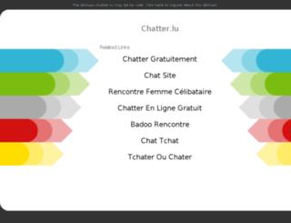 chatter.lu screenshot