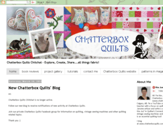 chatterboxquilts.blogspot.com screenshot