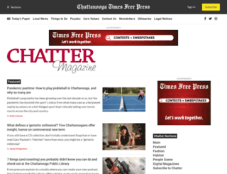 chatterchattanooga.com screenshot
