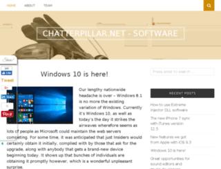 chatterpillar.net screenshot