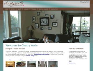 chattywalls.com screenshot