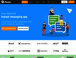 chatwee.com screenshot