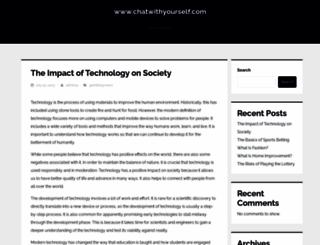 chatwithyourself.com screenshot