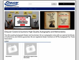 chaucercovers.com screenshot