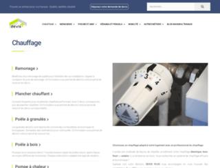 chauffage.devis-plus.com screenshot