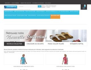 chausspital.com screenshot
