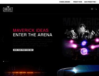 chauvetprofessional.com screenshot