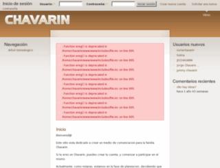 chavarin.net screenshot