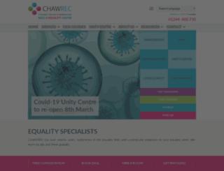 chawrec.org.uk screenshot