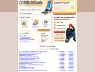 chblog.ch screenshot