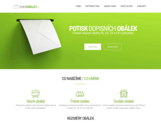 chciobalky.cz screenshot