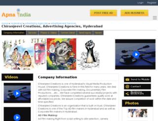 chcreations-hyderabad.apnaindia.com screenshot