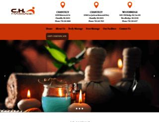 chdayspa.com screenshot