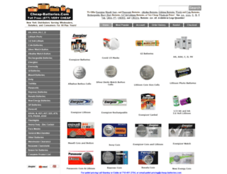 cheapbatteries.com screenshot
