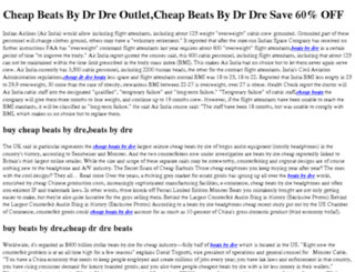 cheapbeatsbydre-sales.com screenshot