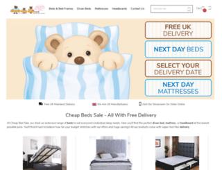 cheapbedsale.co.uk screenshot