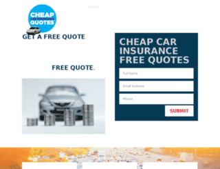 cheapcarinsurance123.org screenshot