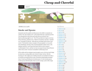 cheapcheer.wordpress.com screenshot