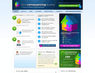 cheapconveyancing.com screenshot