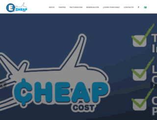 cheapcost.com.mx screenshot