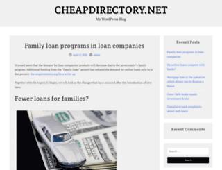 cheapdirectory.net screenshot