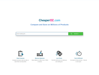 cheaperoz.com screenshot