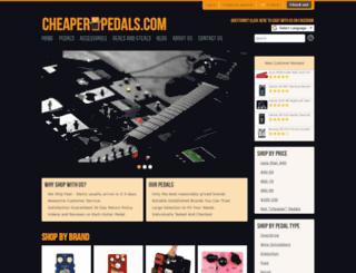 cheaperpedals.com screenshot