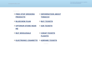 cheapesmoke.com screenshot