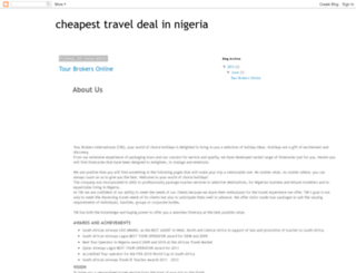 cheapesttraveldealevernigeria.blogspot.com screenshot