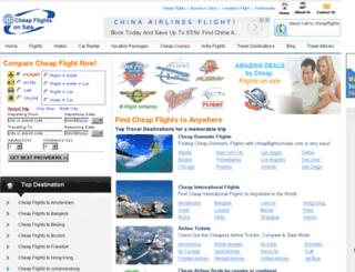 cheapflightsonsale.com screenshot