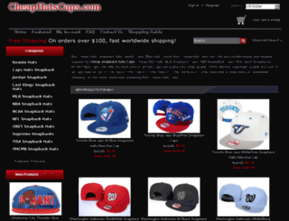 cheaphatscaps.com screenshot
