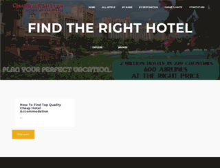 cheaphotelcheck.com screenshot