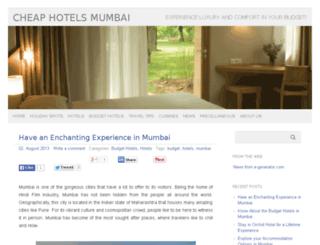 cheaphotelsmumbai.com screenshot
