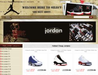 cheapjordan13xiii.com screenshot