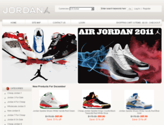 cheapjordanshoessale.net screenshot