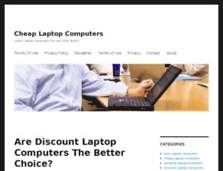 cheaplaptopcomputersblog.com screenshot