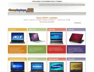 cheaplaptops.sg screenshot