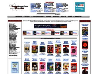 cheapmagazinesite.com screenshot