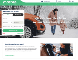 cheapmotors.co.uk screenshot