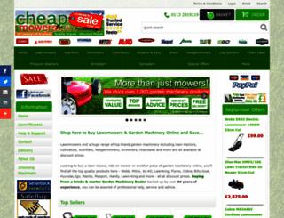 cheapmowers.co.uk screenshot