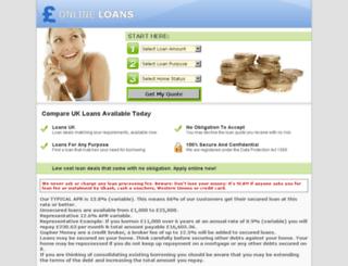 cheaponline-loans.co.uk screenshot