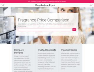 cheapperfumeexpert.com screenshot