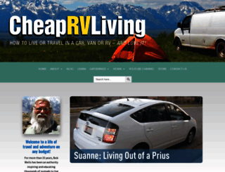cheaprvliving.com screenshot