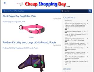 cheapshoppingday.com screenshot