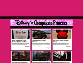 cheapskateprincess.com screenshot