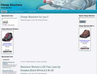 cheapskechers.net screenshot