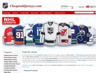 cheapsnhljerseys.com screenshot