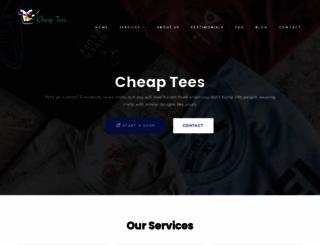 cheaptees.org screenshot